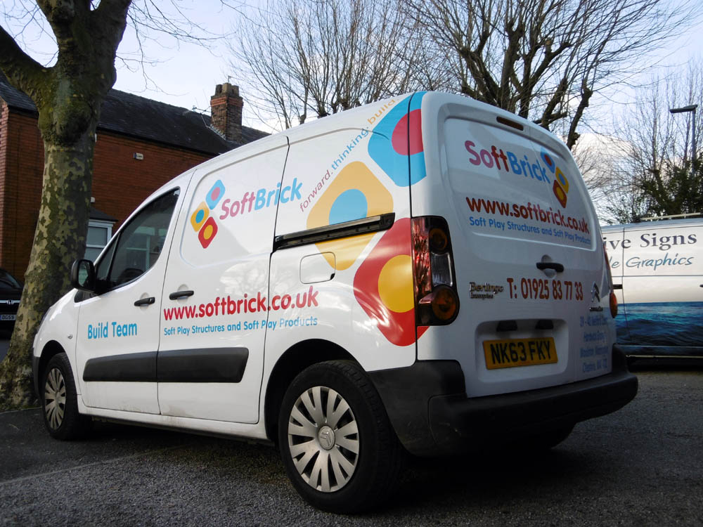 Van Signs Vehicle Graphics And Lettering Warrington